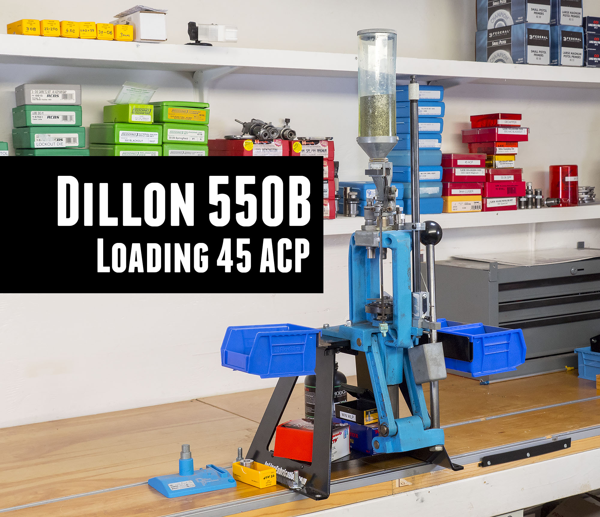 Reloading 45 ACP with the Dillon 550B
