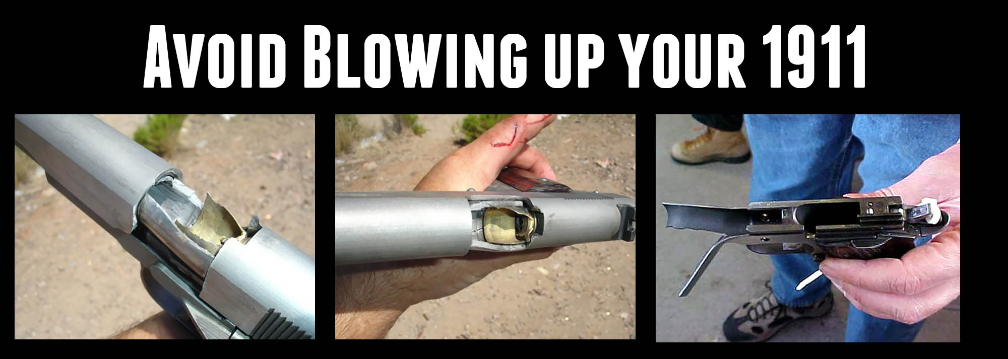 Don't Blow up that 1911: Reload 45 ACP the Safe Way