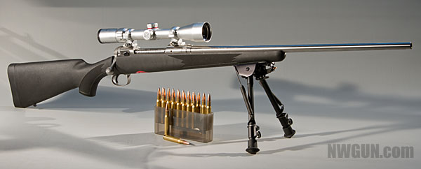 A rifle like this Savage 116 is capable of fine accuracy - but only with the right ammunition - Image copyright 2012 NWGUN.com
