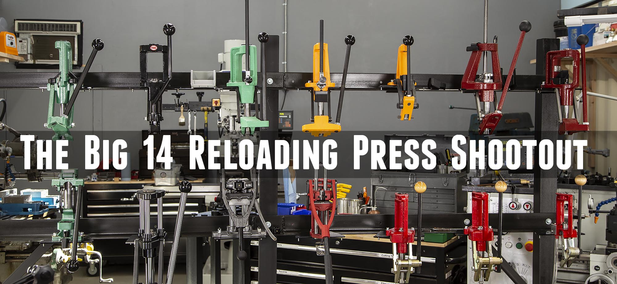 Fourteen Reloading Presses Compared: Single-Stage Shootout